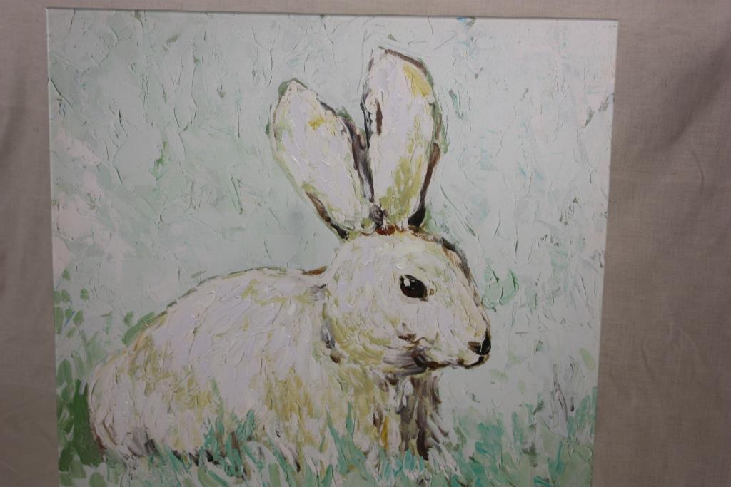 Resting Rabbit 60 x 60cm - Jalan Imports